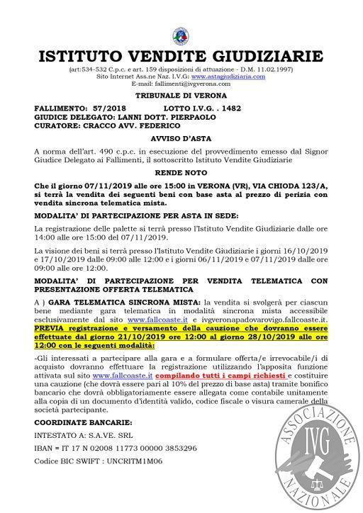 EDIZIONE VERONA BOLLETTINO MOBILIARE N. 86 GARA TELEMATICA SINCRONA MISTA IL GIORNO 7 NOVEMBRE 2019_page-0002.jpg