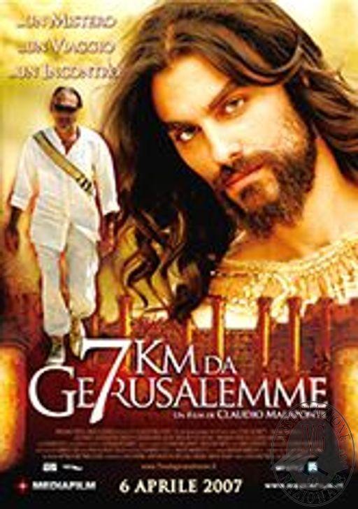 LUNGOMETRAGGIO FILM: 7 KM DA GERUSALEMME, ISCRIZIONE SIAE/N PRC 11/02/2003/9961, PRODOTTO DA ARTIKA FILM PRODUCTION SRL.