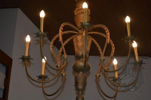 Lampadario candeliere