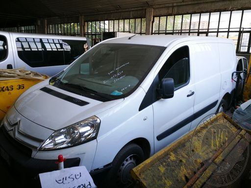 Fall. Allumitetto srl n. 23/2018 - Lotto 2: Autocarro Citroen Jumpy tg. EA305PN