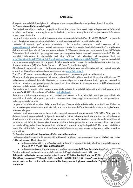 BOLLETTINO N. 69 EDIZIONE VERONA GARA IL GIORNO 25 SETTEMBRE 2019 VENDITA TELEMATICA IMMOBILIARE IN MODALITA' SINCRONA MISTA_page-0003.jpg