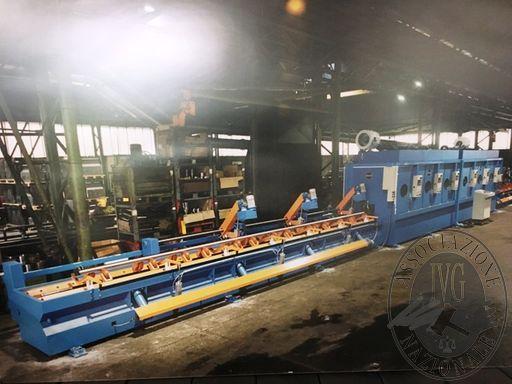 Fall. Officine Tulfer srl n. 530/2018 - Macchinari, magazzino, materie prime e semilavorati della società che produceva impianti idraulici per ascensori.