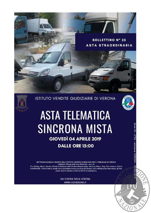 BOLLETTINO N. 25 EDIZIONE VERONA GARA TELEMATICA SINCRONA MISTA IL GIORNO 04 APRILE 2019_pages-to-jpg-0001.jpg