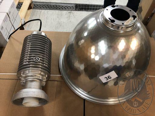 n.16 lampade + n. 12 lampade da soffitto