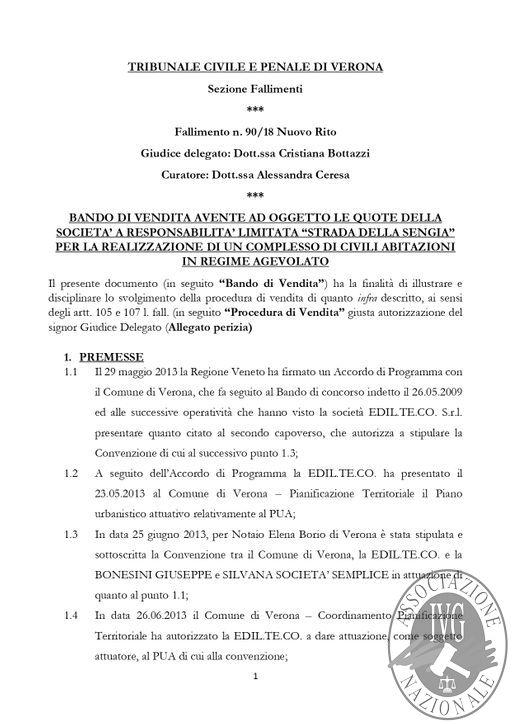 BOLLETTINO N. 5 - EDIZIONE VERONA - QUOTE DELLA SOCIETA' STRADA DELLA SENGIA SRL- GARA IL GIORNO 13 MARZO 2020 H. 15.00_page-0003.jpg