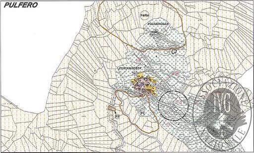 Terreni boschivi per complessivi 57.741 mq.