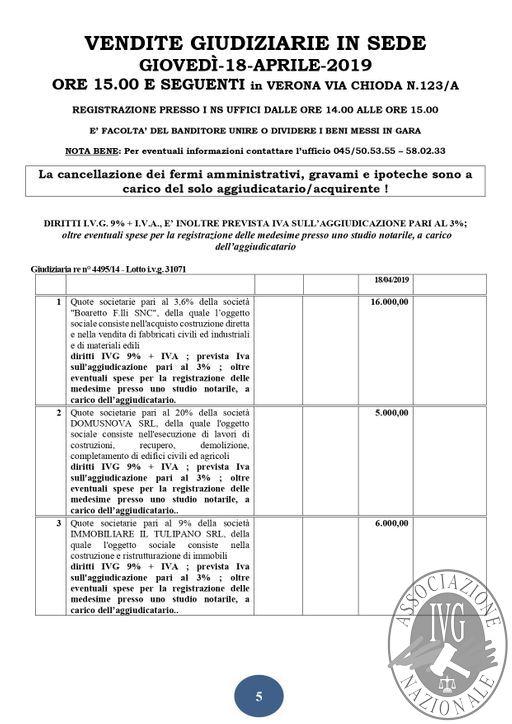 BOLLETTINO N. 35 EDIZIONE VERONA - QUOTE SOCIETARIE GARA IN DATA 18 APRILE 2019_page-0005.jpg