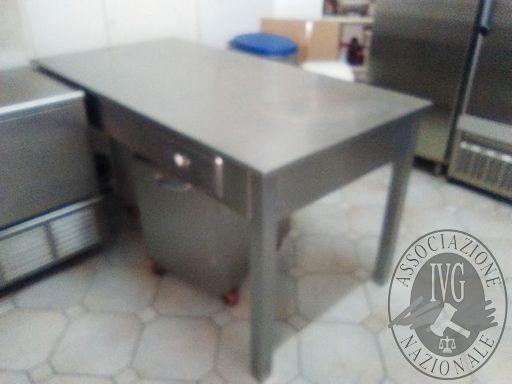 Tavolo acciaio 70x130