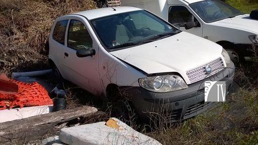 Autocarro modello Fiat Punto