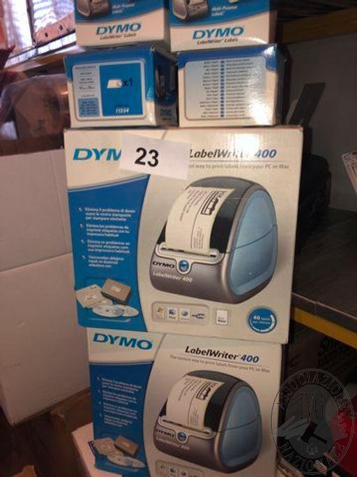 N. 2 etichettatrici DYNO con ricambi
