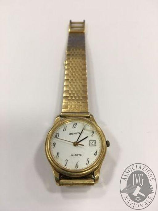 orologio Zenith in oro giallo peso 43,3 gr.