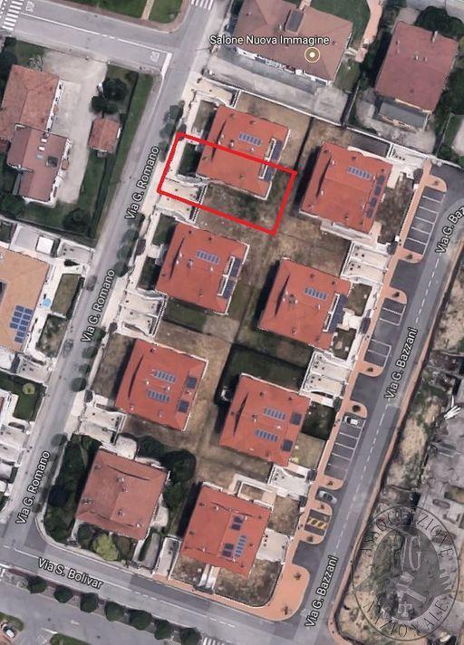 Lotto 8_ LOCATO appartamento mq 99,70 con cantina autorimessa e giardino sito in Via G. Romano, Borgo Virgilio (MN).