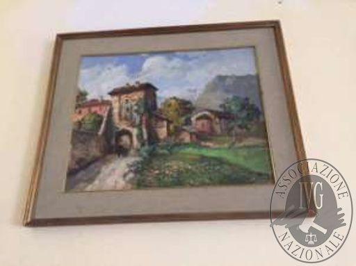 n.4 stampe fotografiche con differenti soggetti e un dipinto